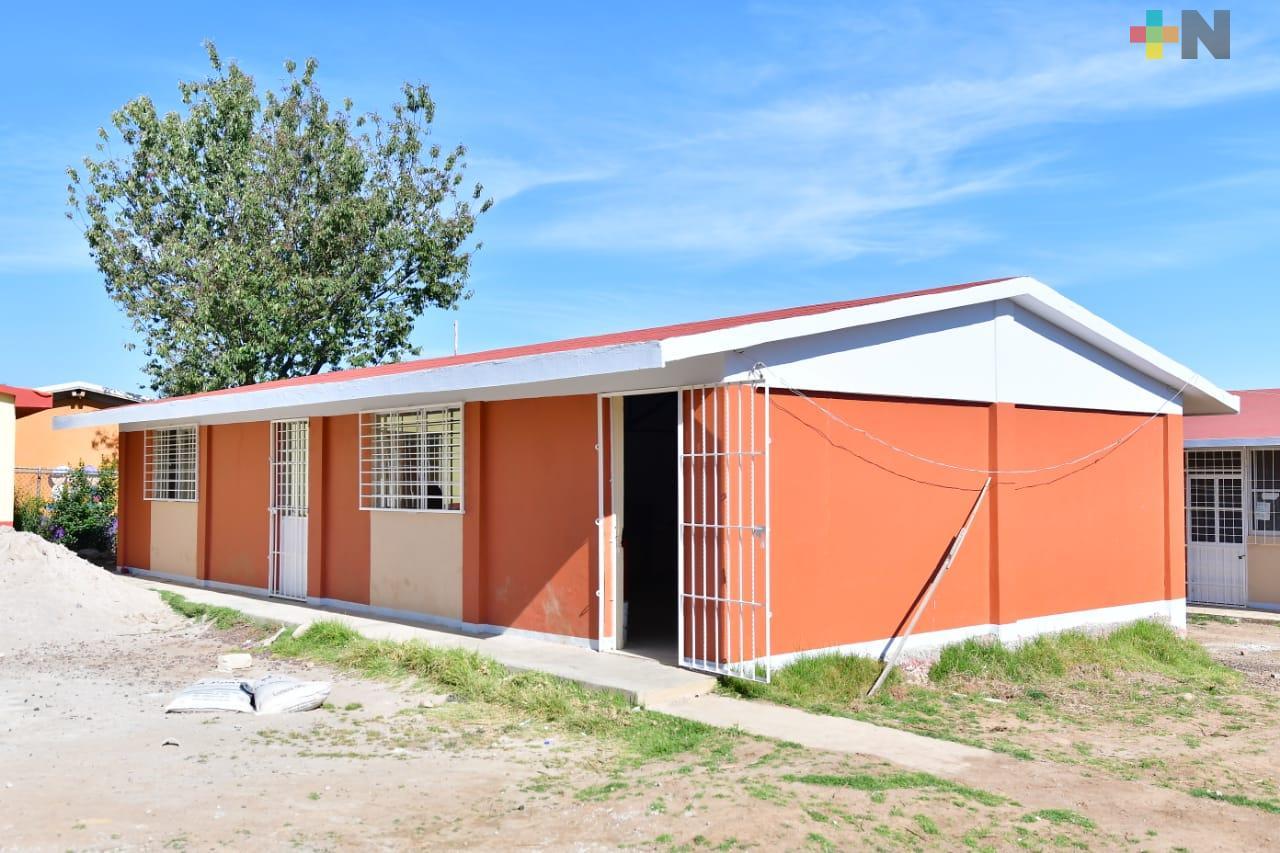 Combate SEV rezago en infraestructura escolar construyendo y rehabilitando espacios educativos