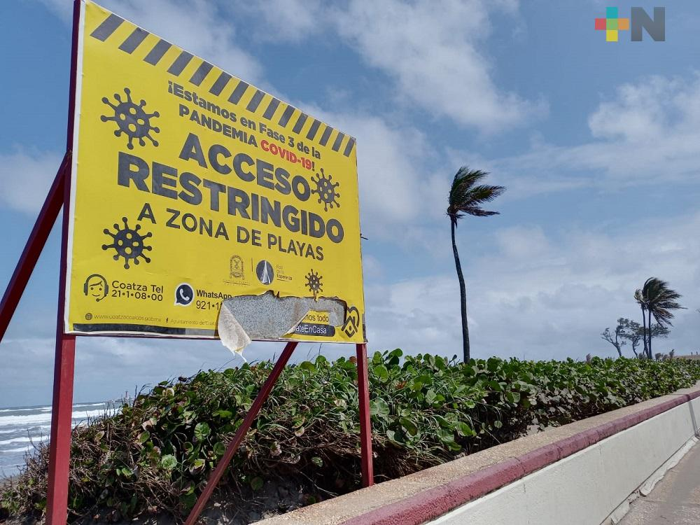 Semarnat, sin contemplar dar permisos para venta en playas del sur de Veracruz