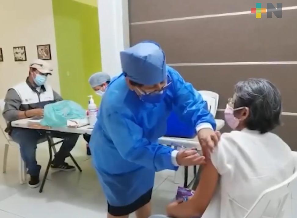 Se han aplicado 2 millones 849 mil 630 dosis de las vacunas anti COVID en México
