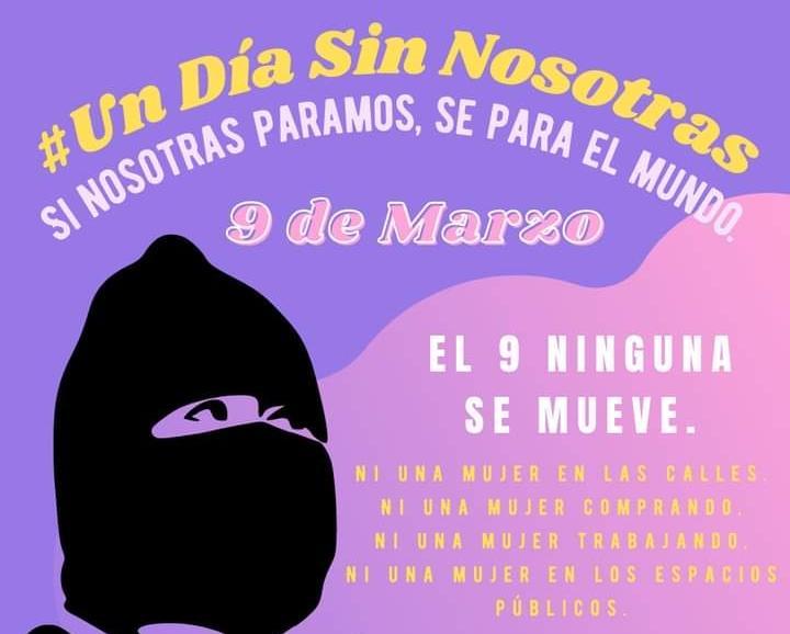 Para crear conciencia contra la violencia a las mujeres, convocan al paro «Un día sin nosotras»