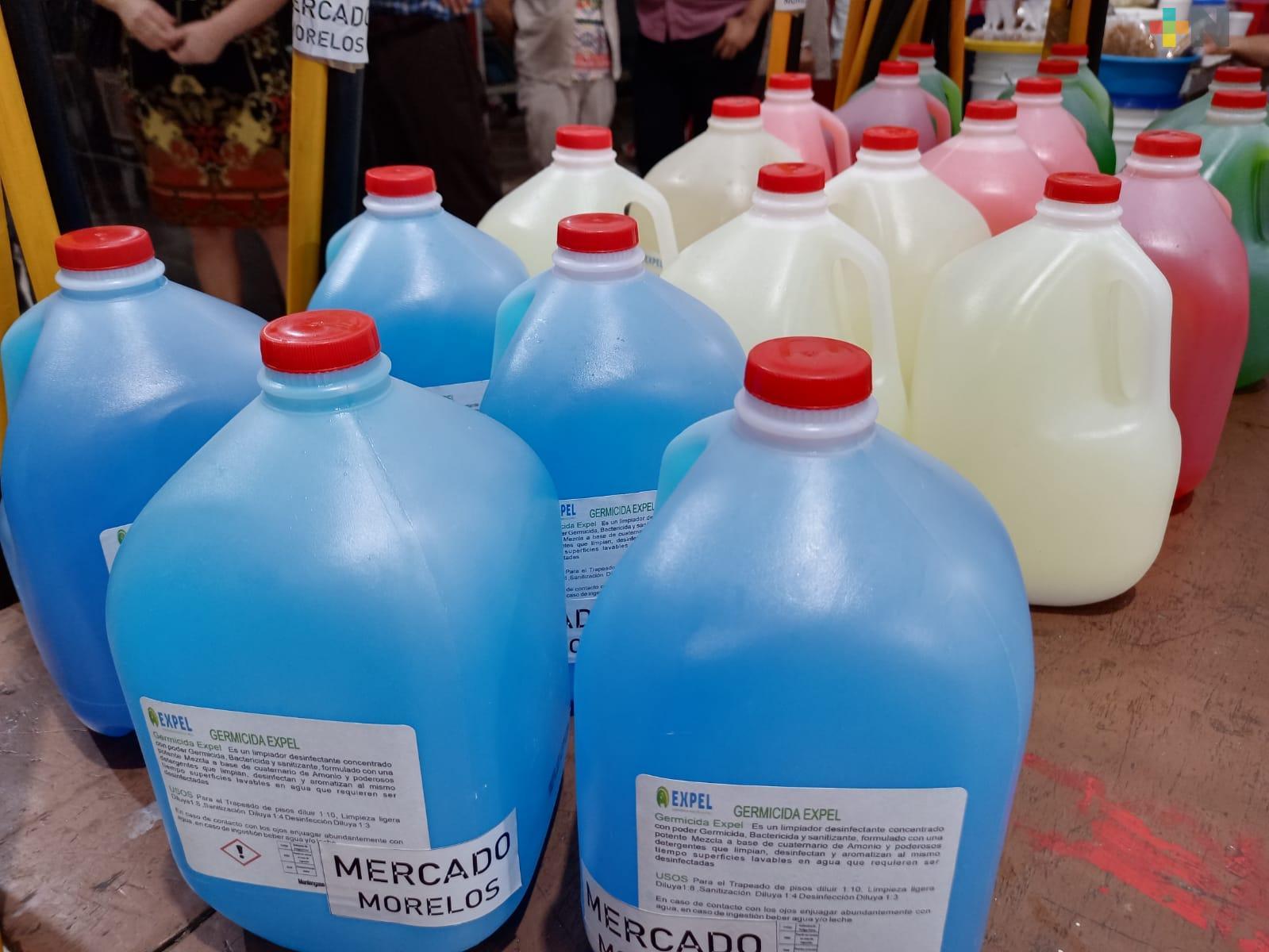 Ciudadanos de Coatzacoalcos se unieron para donar productos y artículos de limpieza a mercados
