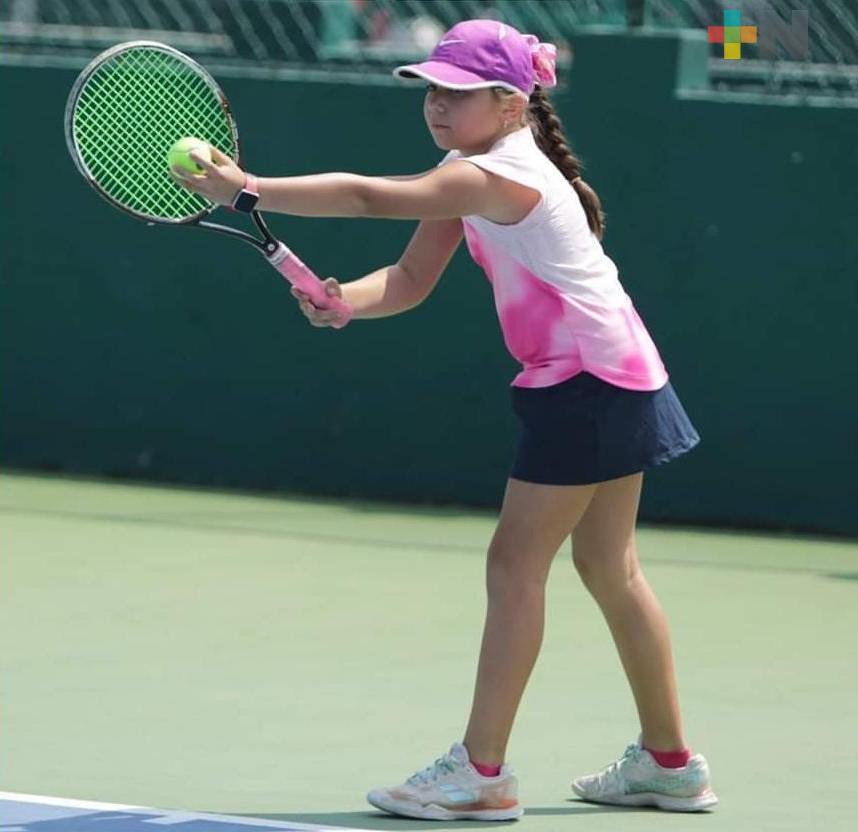 Marissa Ríos ganó el estatal de tenis