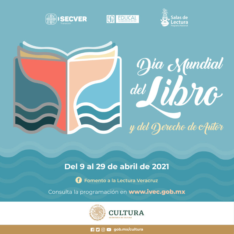 Presenta IVEC programa de actividades por el Día Mundial del Libro y del Derecho de Autor