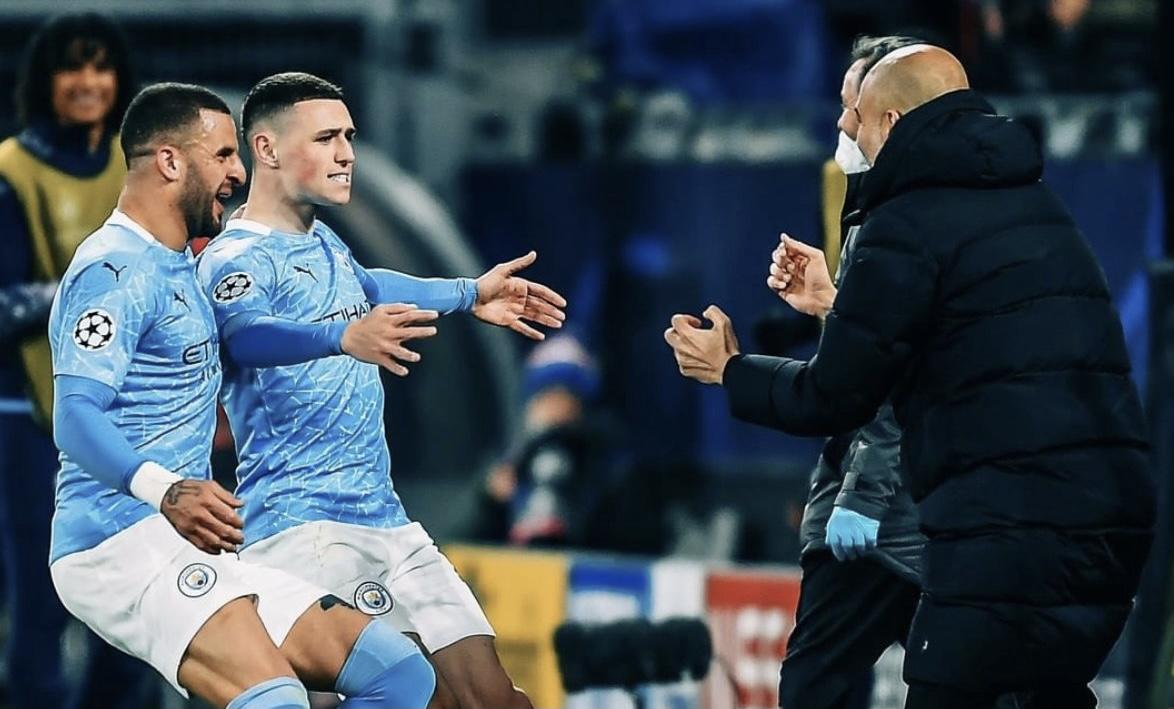 Manchester City a semifinales de la Champions, derrotó al Borussia Dortmund 2-1