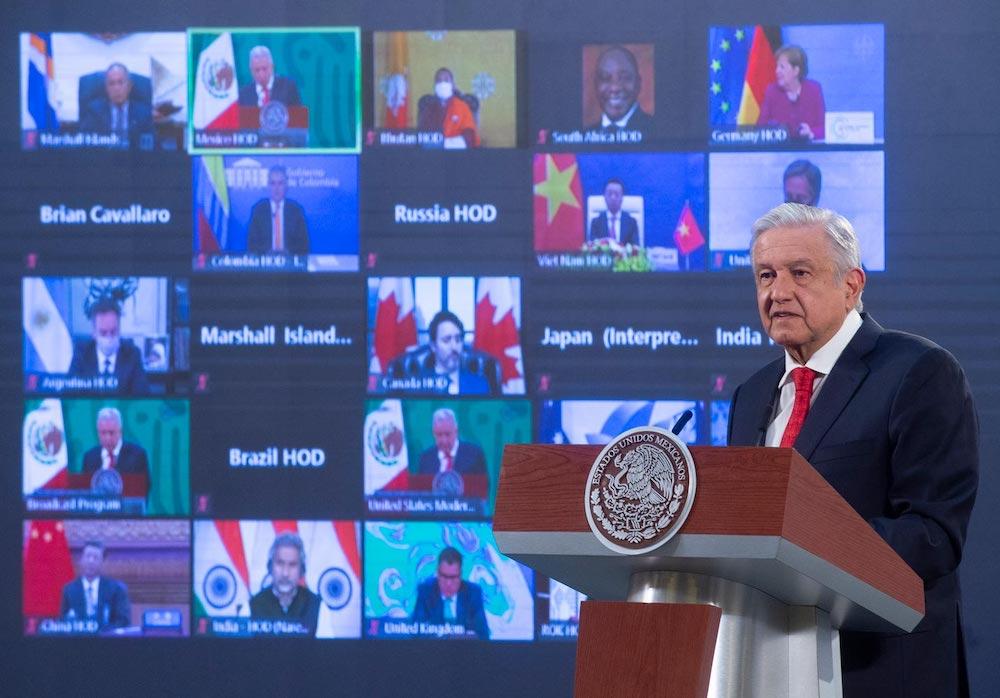 AMLO expone en Cumbre sobre Cambio Climático, beneficios ambientales de Sembrando Vida; propone apoyar iniciativa en Centroamérica