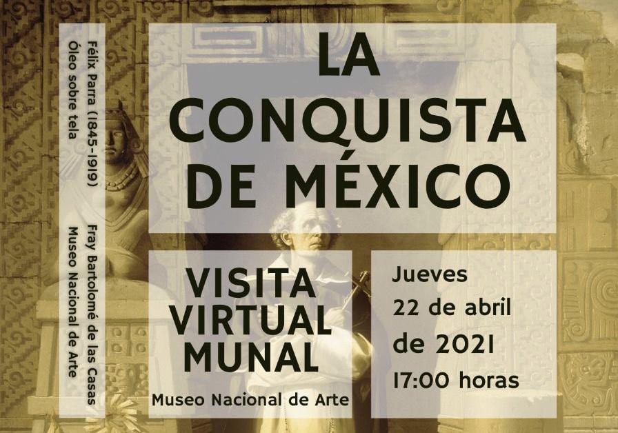 Se realizará la visita virtual al Museo Nacional de Arte