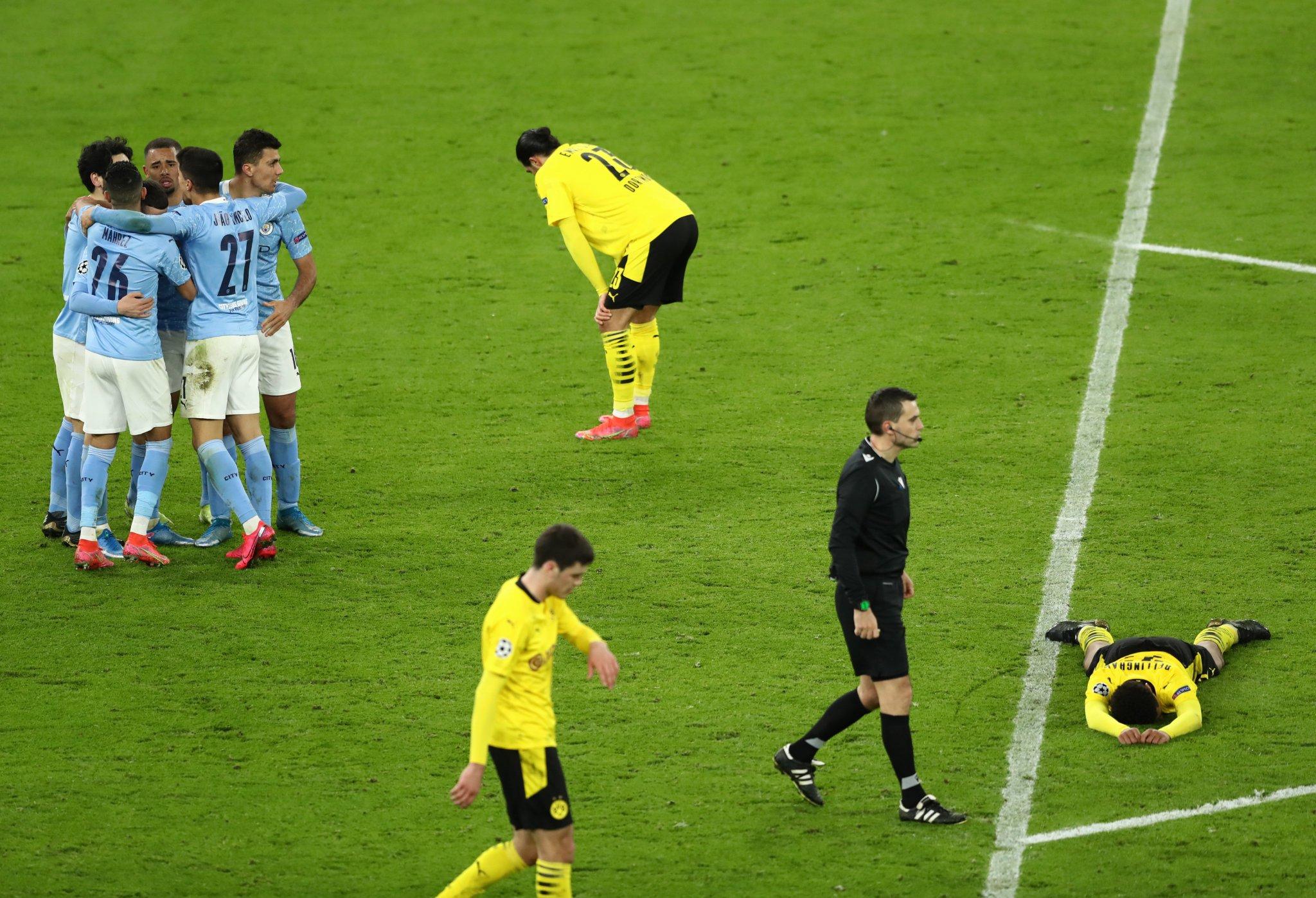 De último minuto, Manchester City derrotó 2-1 al Borussia Dortmund