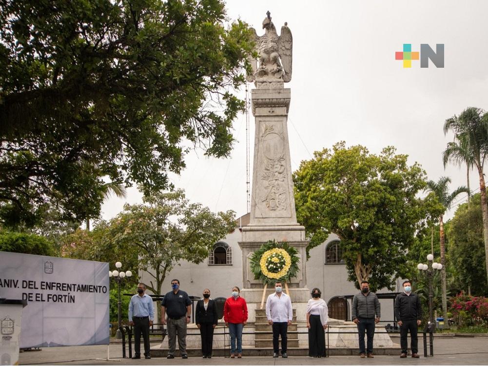 Conmemoraron 159 Aniversario de la Batalla de Fortín