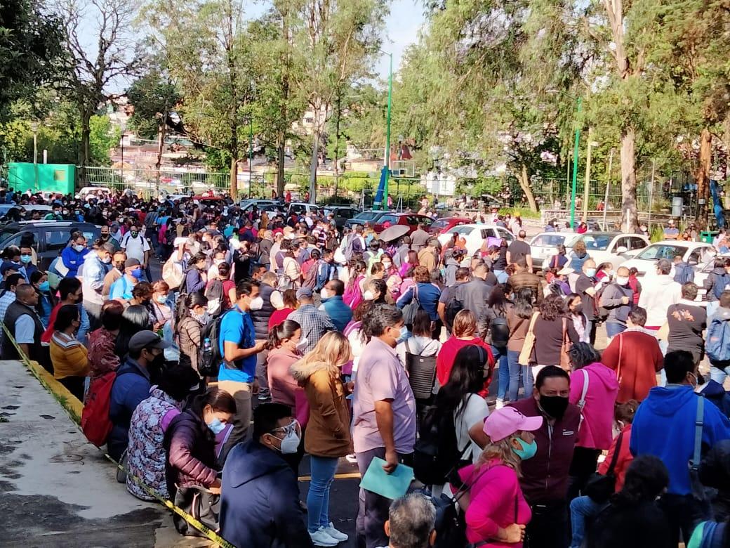 Dio inicio vacunación de docentes contra COVID-19 en Xalapa