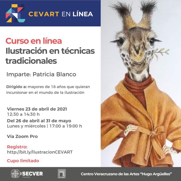 """Invita CEVART a participar en el curso """"Ilustración en técnicas tradicionales"""""""
