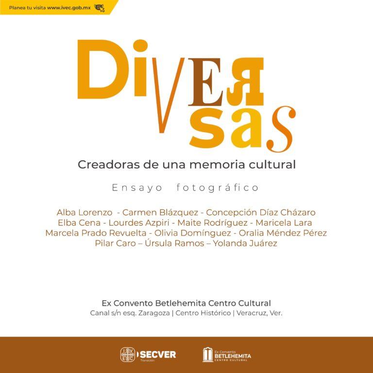 Reconoce IVEC trayectoria de mujeres en la escena cultural del puerto de Veracruz