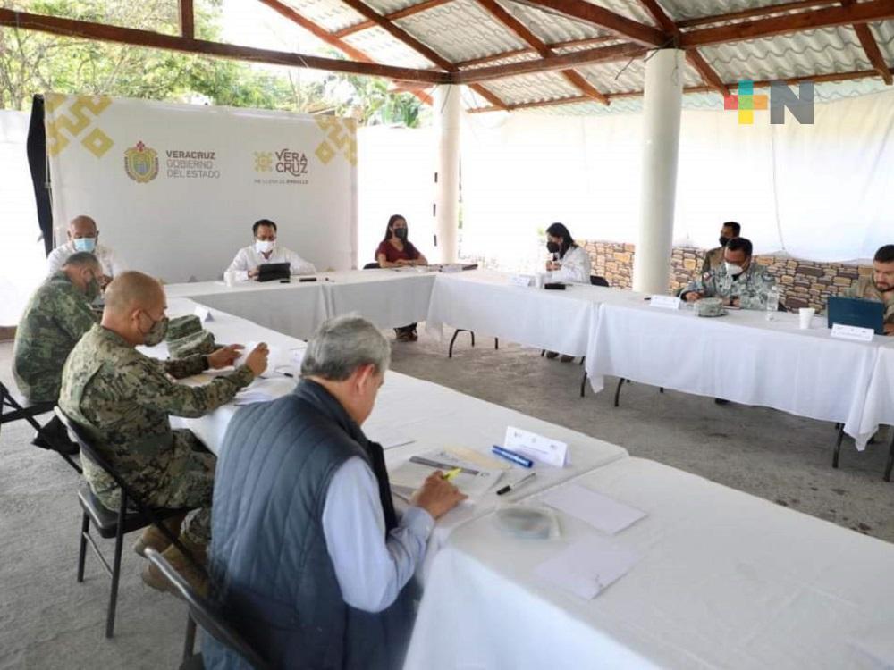 En municipio de Naranjal, se realizó la mesa estatal para la Coordinación de la Paz