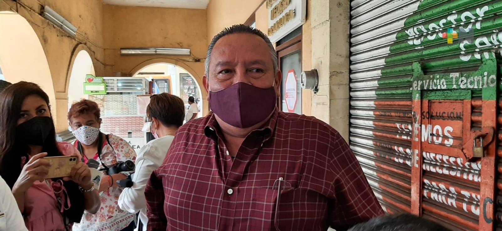 Diputado federal Benjamín Saúl Huerta, acusado de agresión sexual, ya solicitó su salida de bancada de Morena y del partido