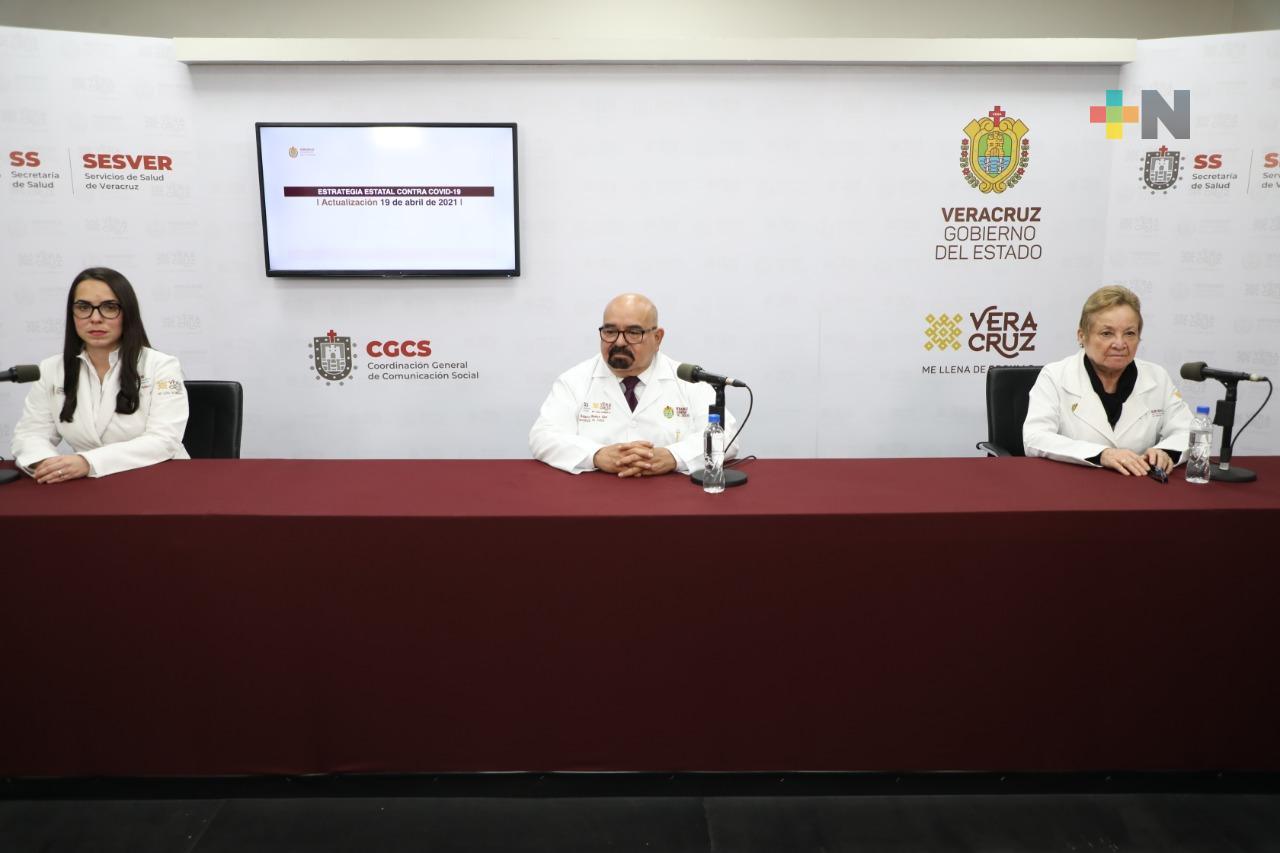 Se registran 36 casos nuevos positivos a COVID-19 en Veracruz