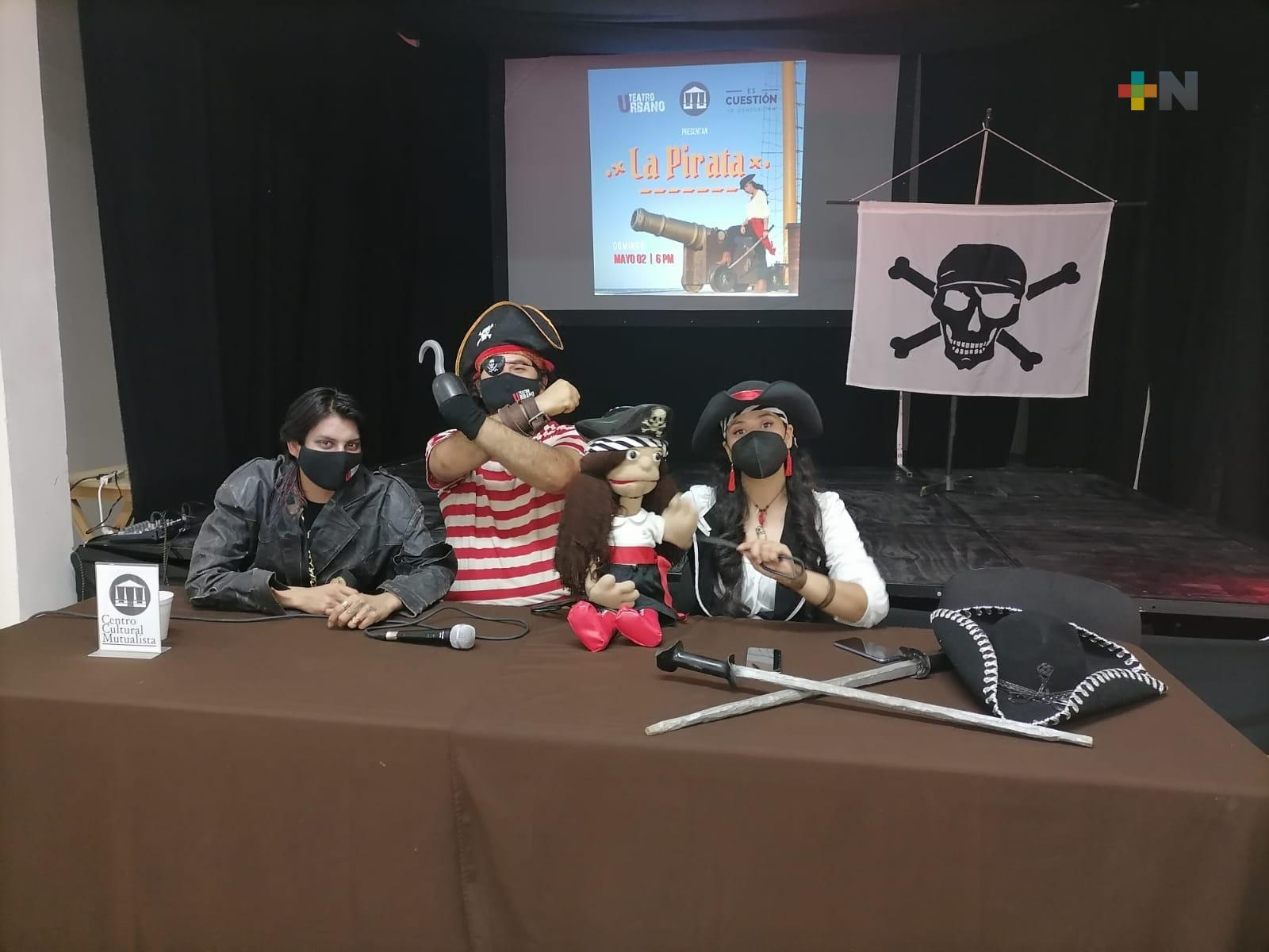 Regresa «La Pirata» al Centro Cultural Mutualista