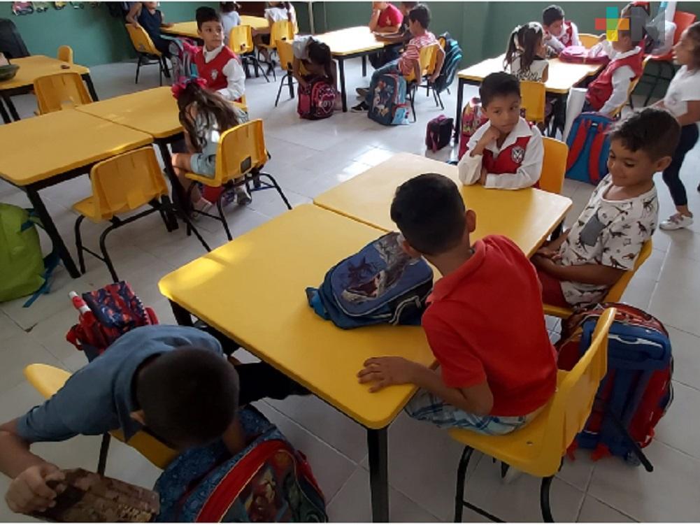 Fecha de regreso a clases presenciales es tentativa: Cuitláhuac García Jiménez