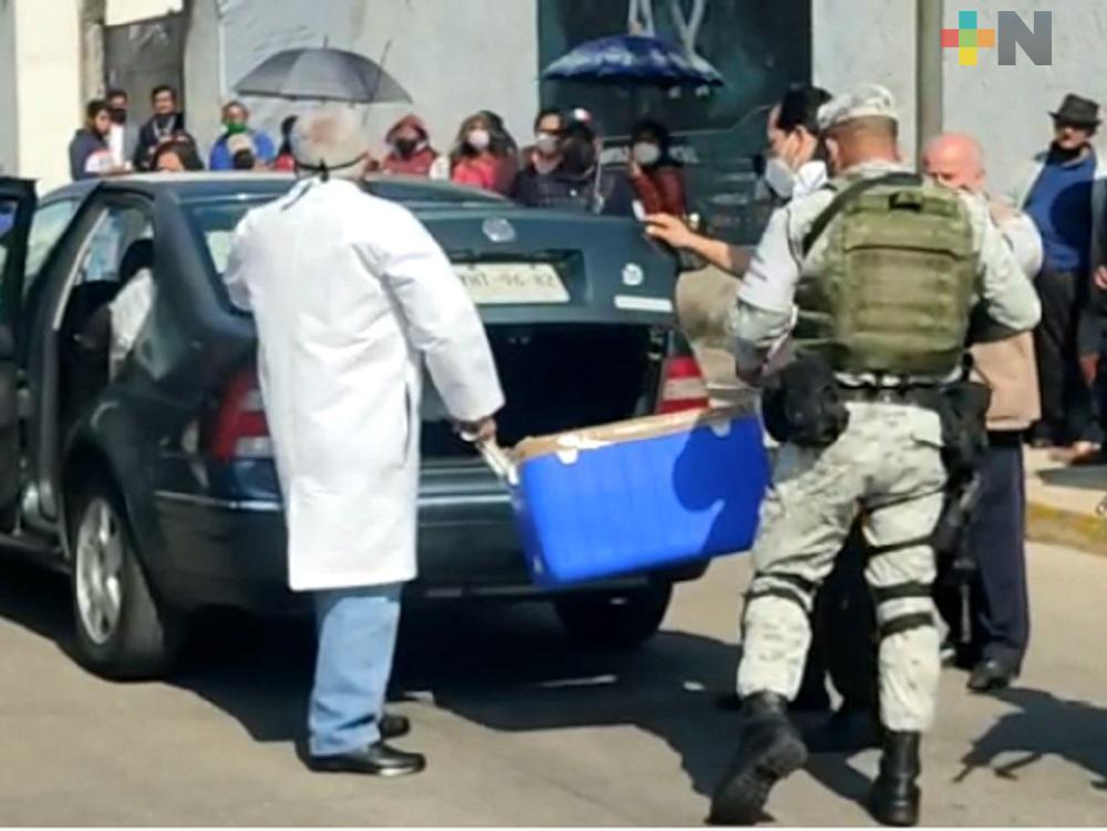 Inició vacunación en municipio de Ixtaczoquitlán