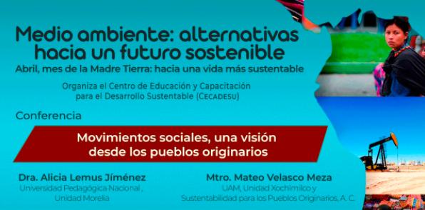"""Desarrollaron el conversatorio """"Medio ambiente alternativas hacia un futuro sostenible, mediante movimientos sociales"""""""