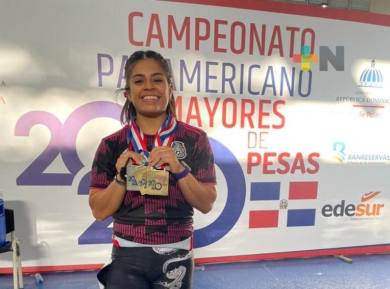 Ana Gabriela López Ferrer es campeona panamericana