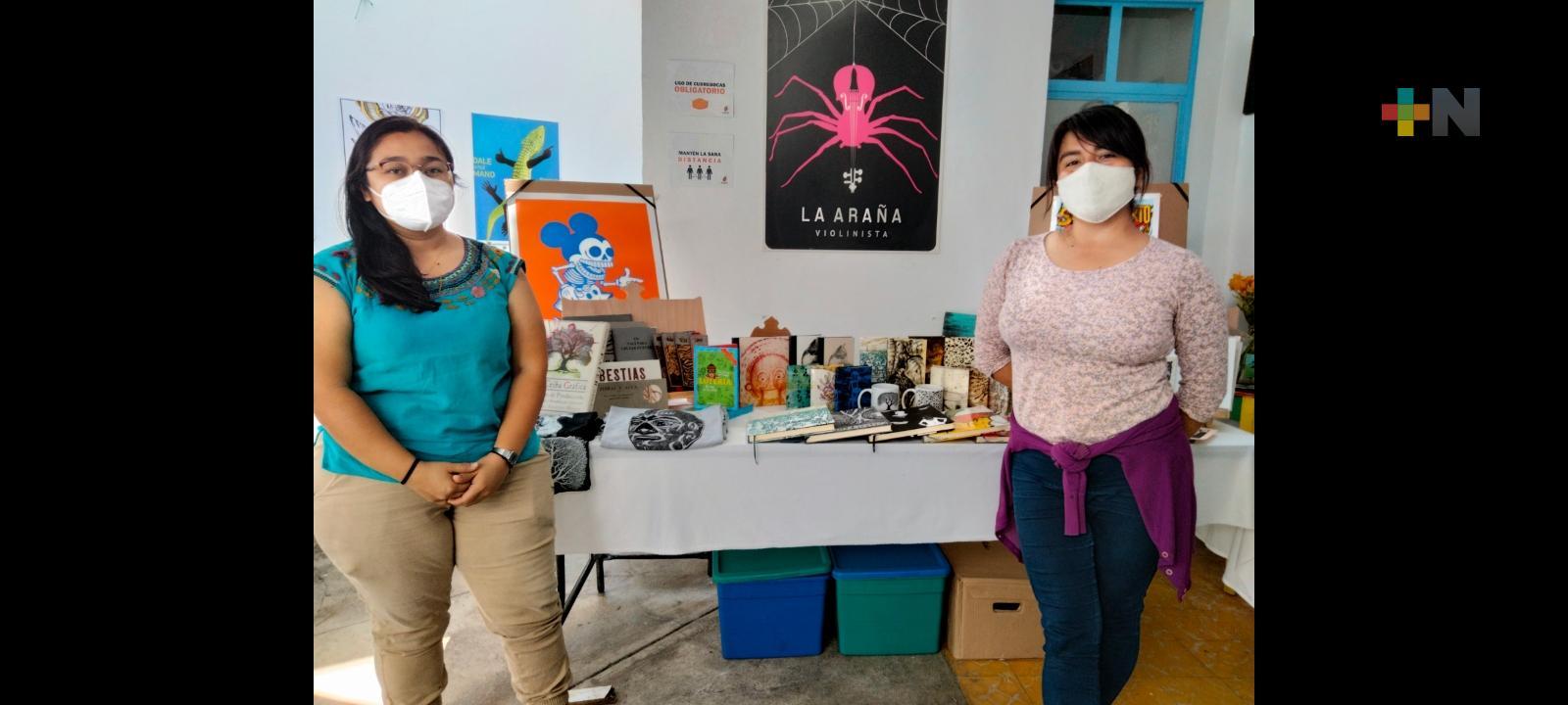 Se reunieron creadores visuales para ofertar productos de diseño gráfico en la Vendimia Entre Amigos «El Milagrito»