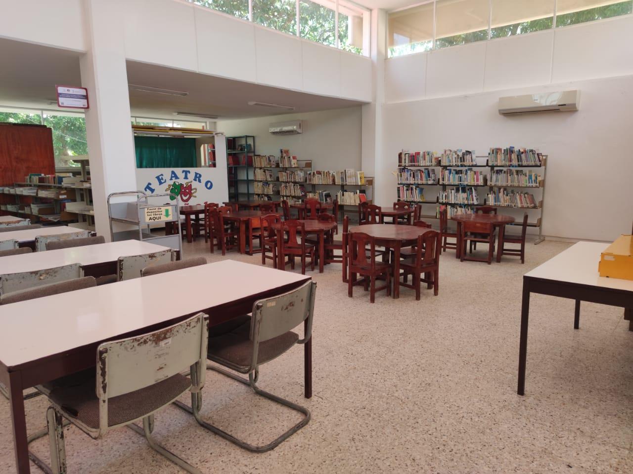Las bibliotecas públicas deben genera otro tipo de actividades: Claudia Izquierdo