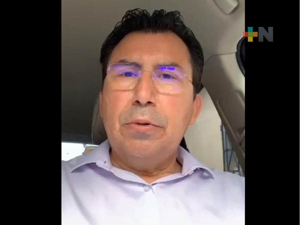 Diputado Gonzalo Guízar exhorta a población hacer caso omiso de noticias falsas sobre vacuna anticovid