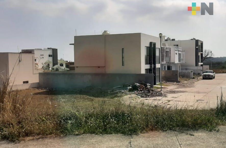 A pesar de estar municipalizado, fraccionamiento Real Mandinga de Alvarado carece de servicios