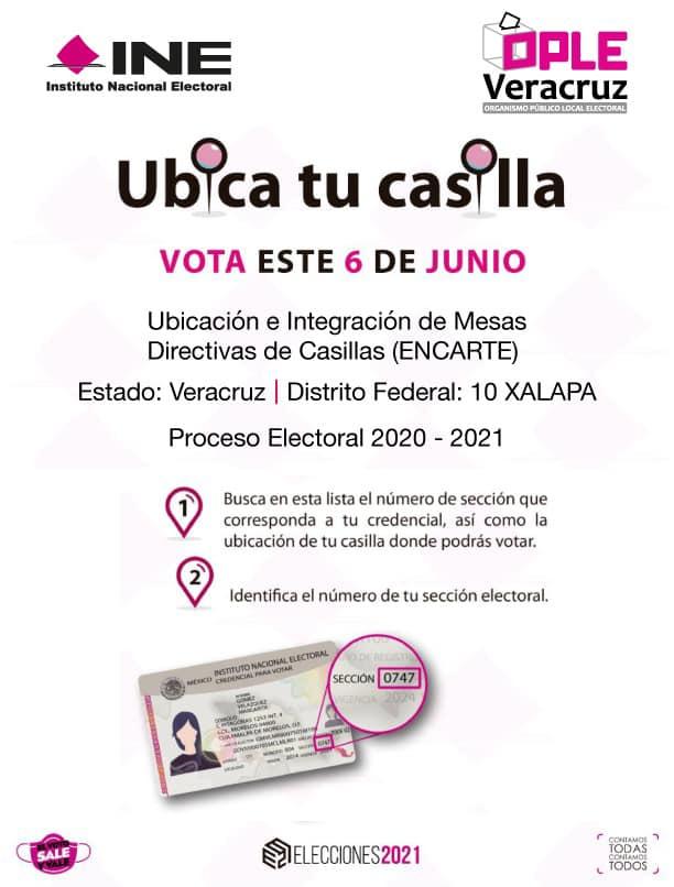 Publican ubicación de casillas para votar el 6 de junio