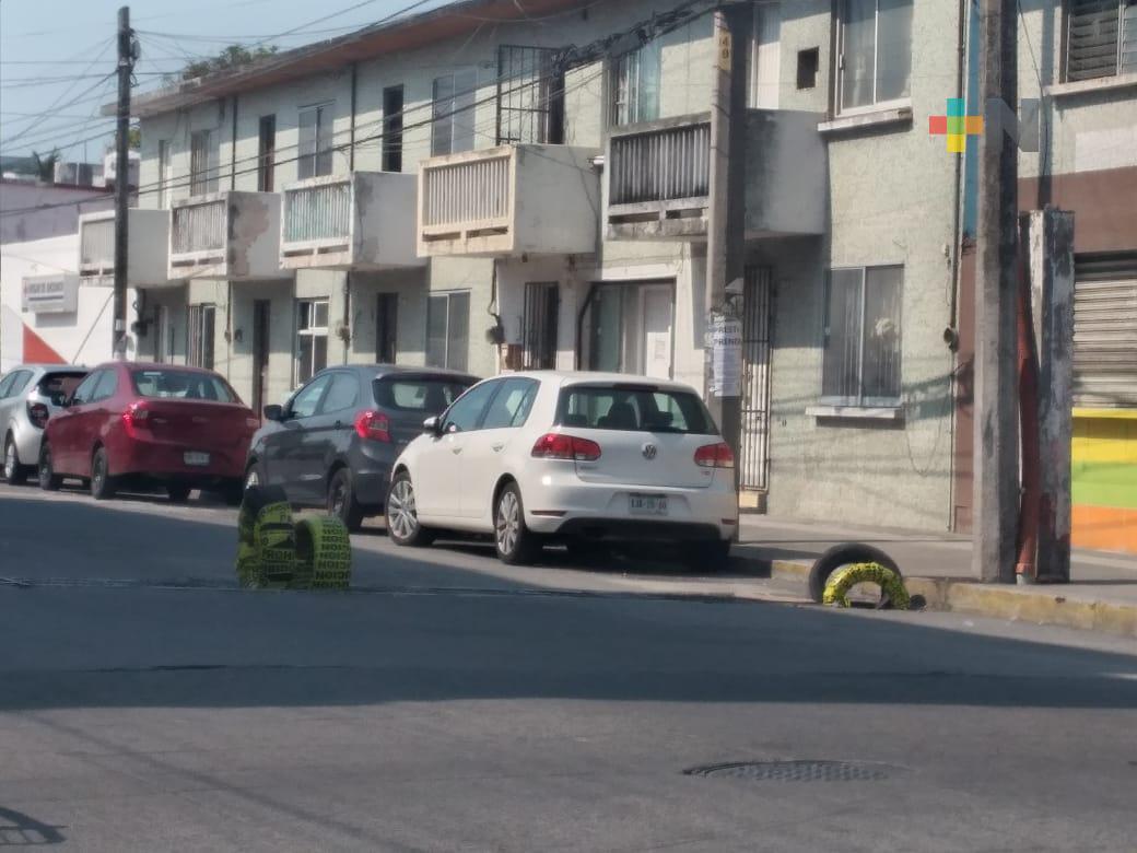 Sin tapa está una tragatormentas en avenida La Fragua del municipio de Veracruz