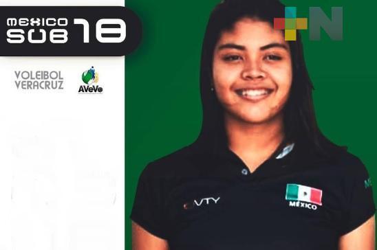 María Ximena Cruz convocada a preselección nacional de Voleibol