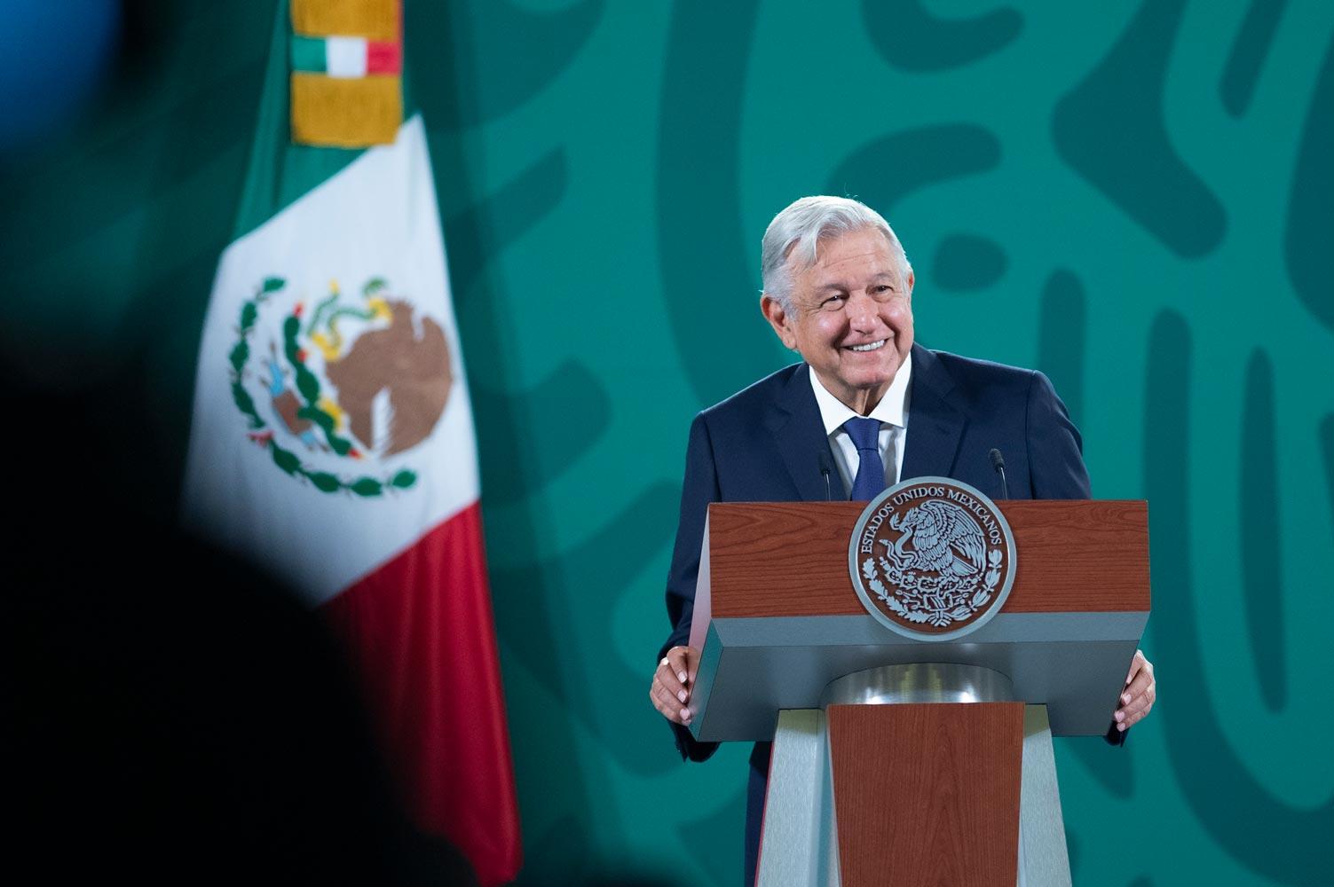 AMLO solicita a EE.UU. explicar financiamiento a Mexicanos Contra la Corrupción