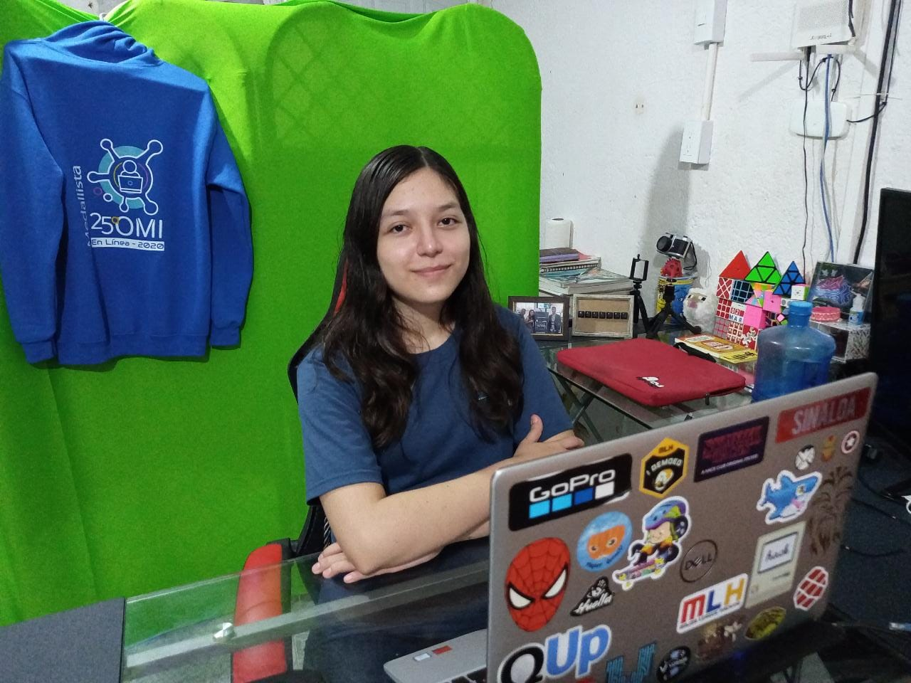 Una joven de Coatzacoalcos, representará a México en la primera Olimpiada Europea de Informática