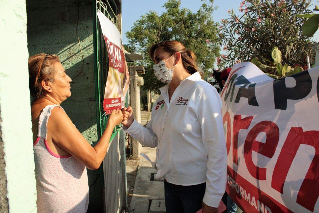 Exhorta Diana Santiago a reconquistar la esperanza para Veracruz