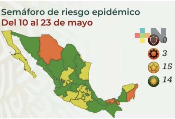Veracruz llega a su cuarto semáforo verde consecutivo