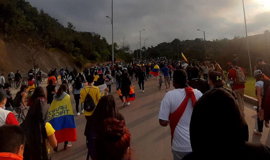 ONU pide que se garantice el derecho a la protesta pacífica en Colombia