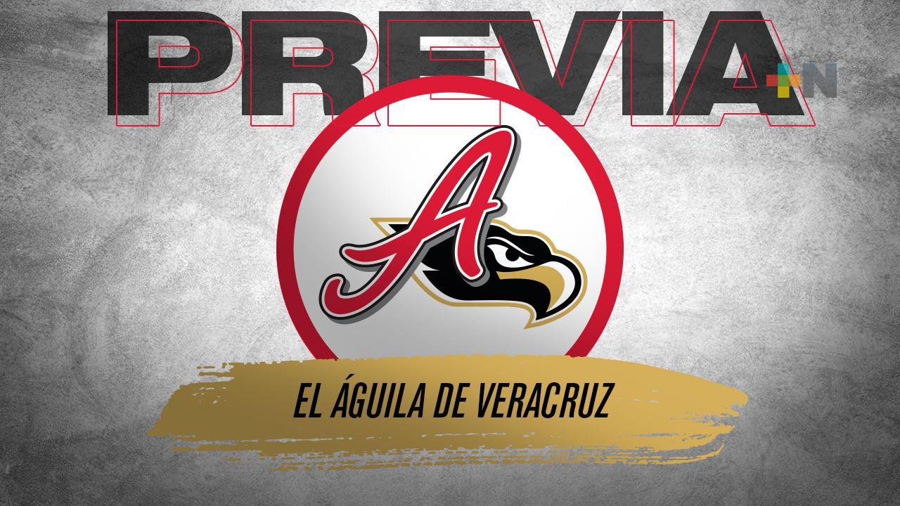 Así luce el orden al bat y rotación de pitcheo de El Águila de Veracruz