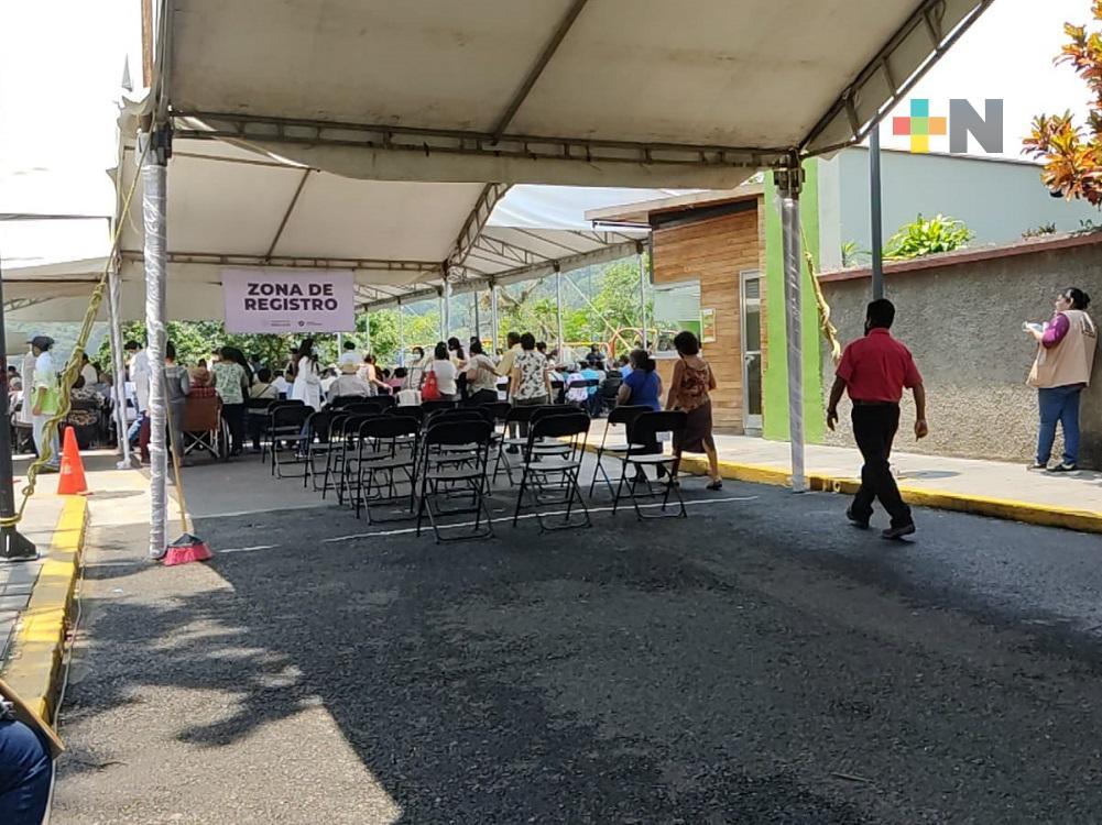En este miércoles concluye vacunación para adultos mayores en municipios de Ixtaczoquitlán y Río Blanco