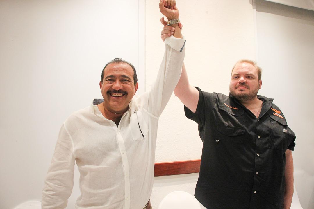 Óscar Lara es el candidato de Movimiento Ciudadano a la alcaldía de Veracruz