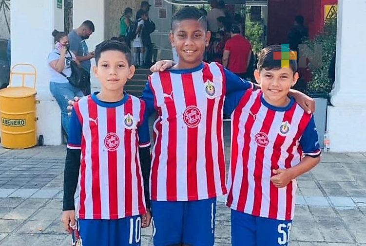 Escuela Chivas Veracruz exporta talentos