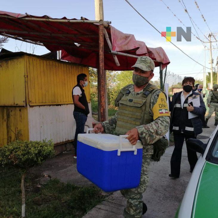 Continúa vacunación contra COVID en zonas rurales de Tuxpan