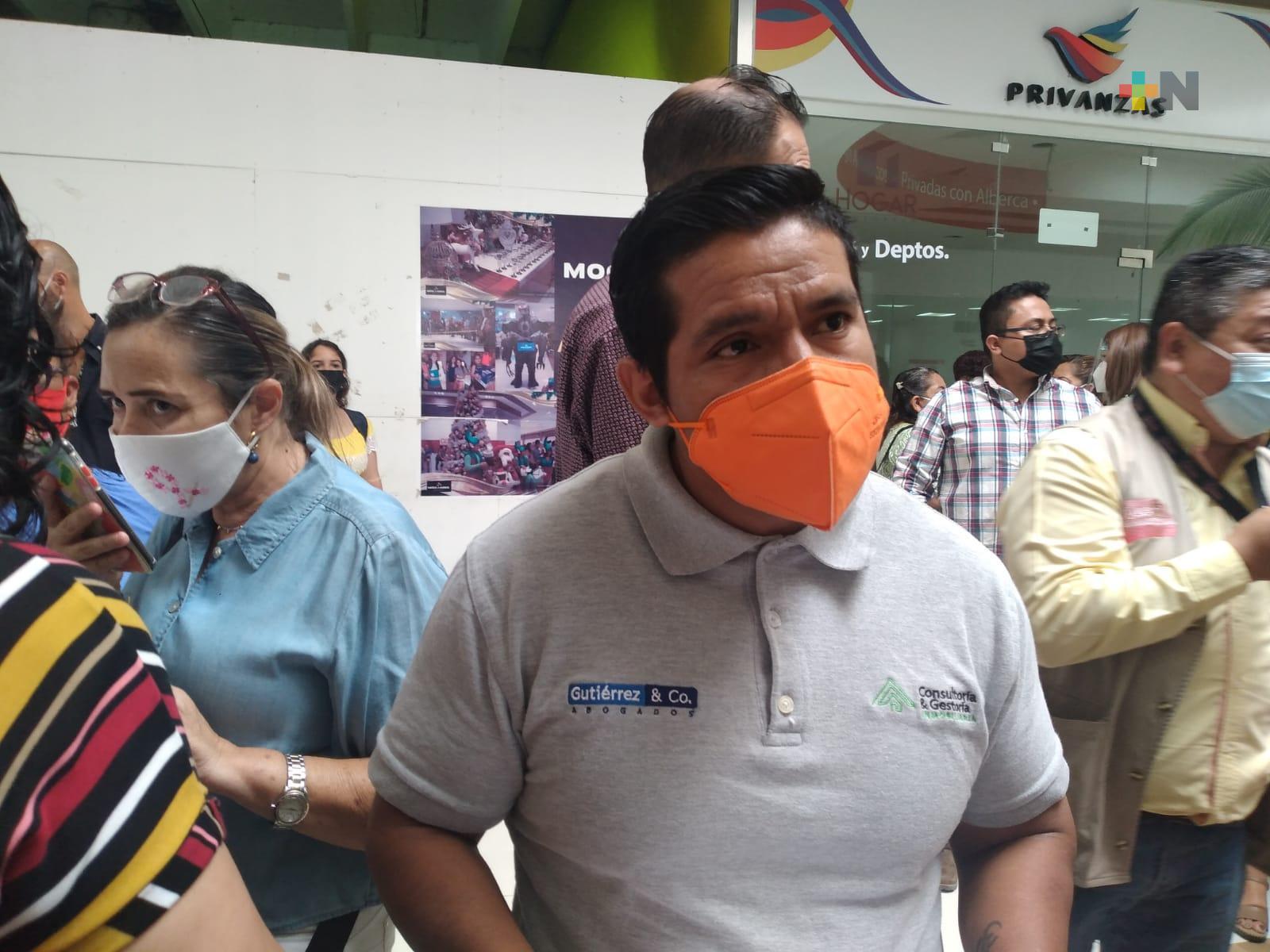 Se manifestaron agentes inmobiliarios por bloqueo de venta y compra de inmuebles no municipalizados