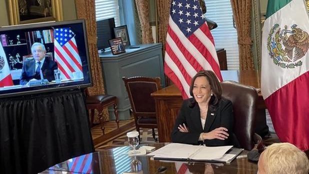 La vicepresidenta de Estados Unidos, Kamala Harris, llegará México la noche del 7 de junio