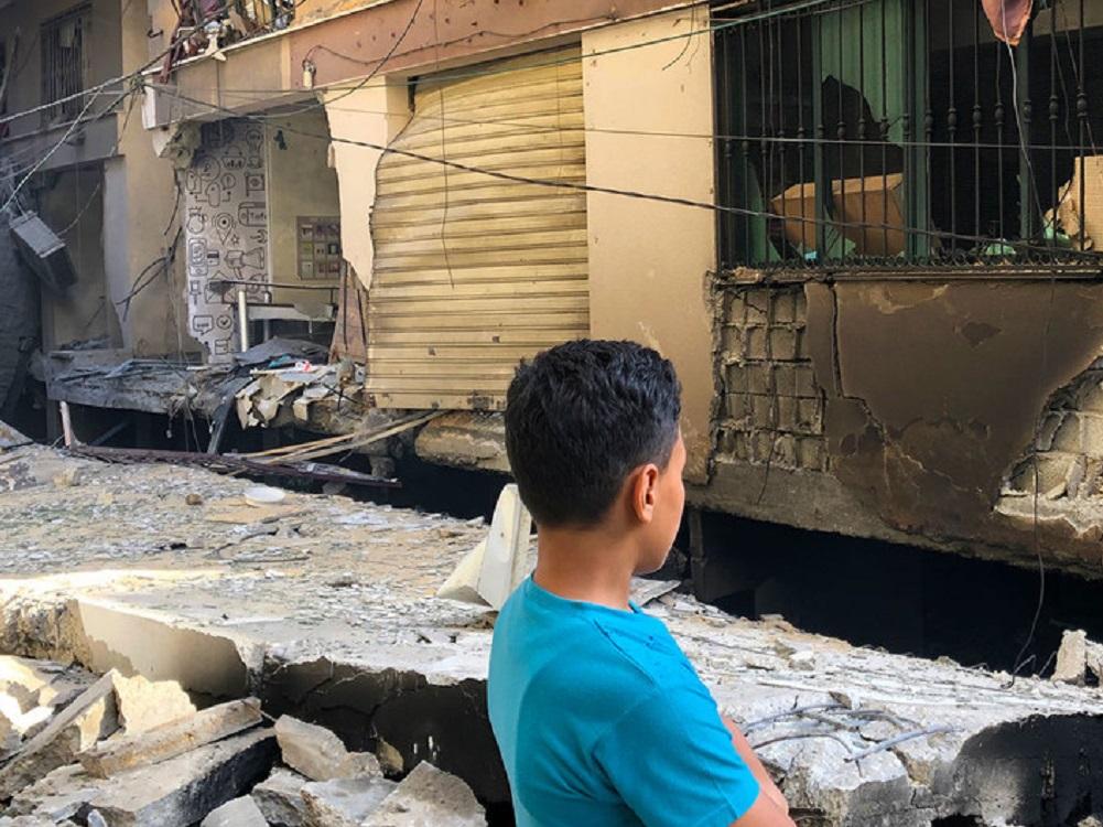 Los bombardeos de Israel en Gaza dañan más de 200 viviendas y 30 escuelas