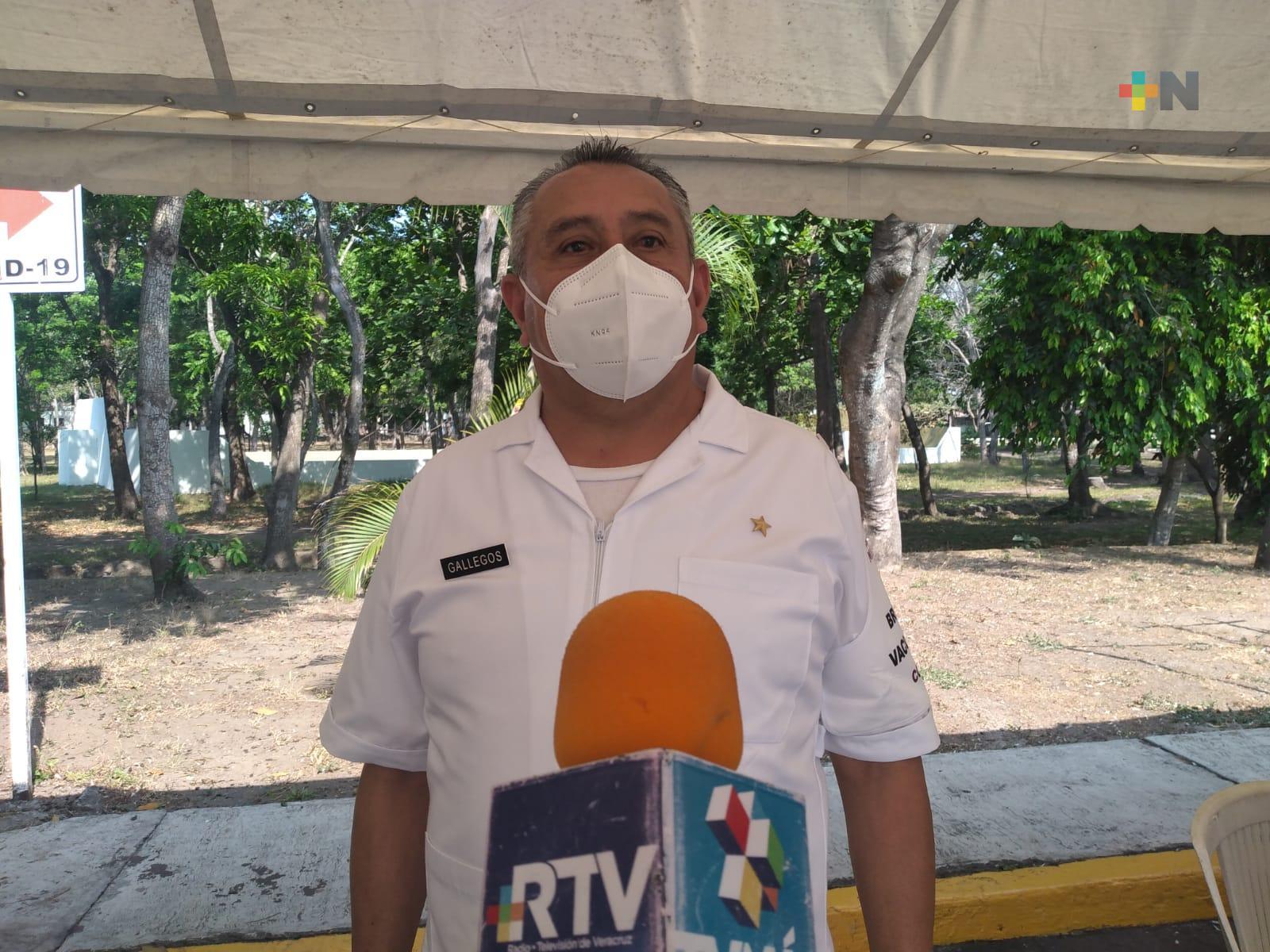 En Hospital Militar de La Boticaria esperan aplicar 3 mil 800 vacunas a personas de 50 a 59 años