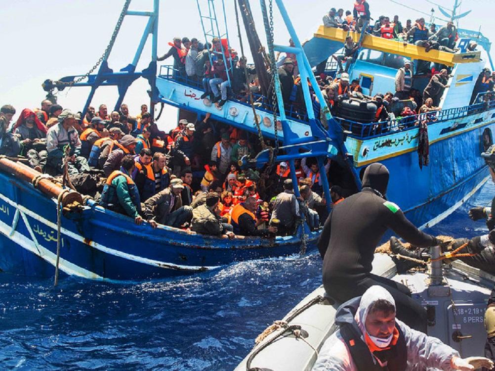 Muertes de migrantes en el Mediterráneo central aumentan un 200% respecto al año pasado