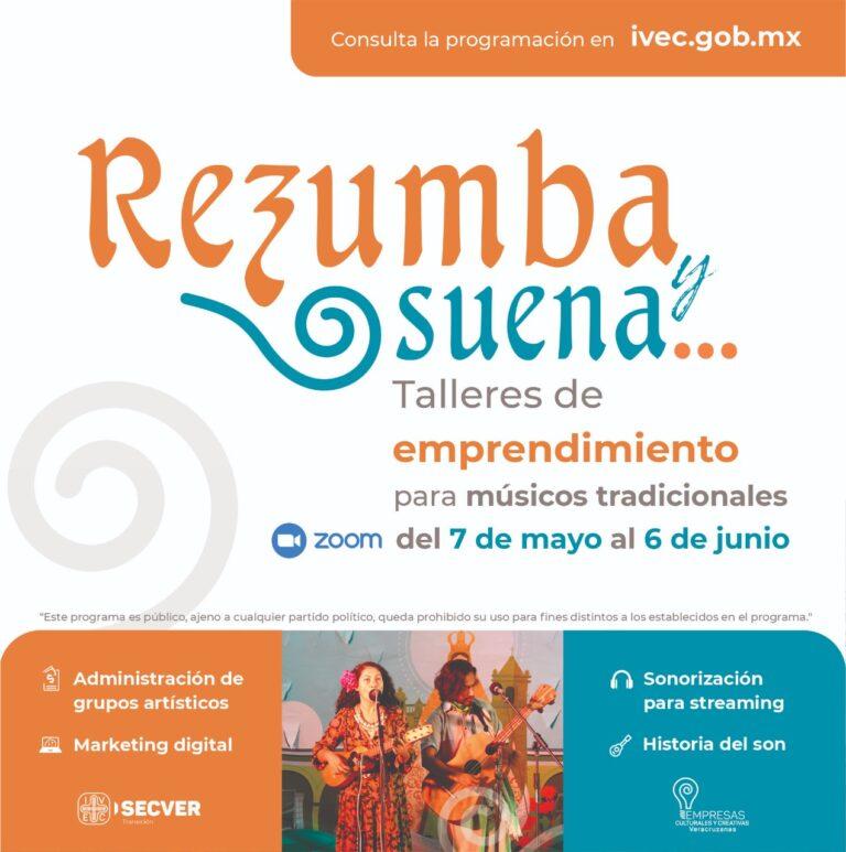 Invita a participar en talleres de emprendimiento para músicos tradicionales