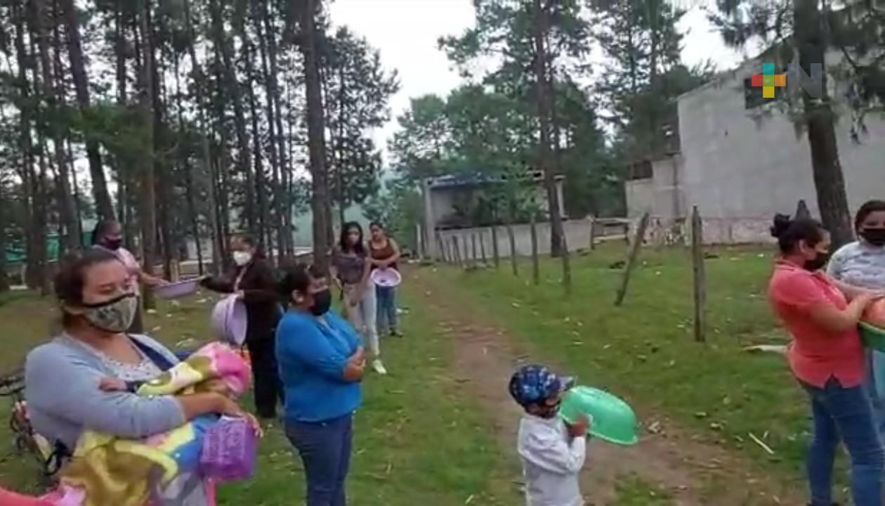 Celebran a las mamás en Huayacocotla