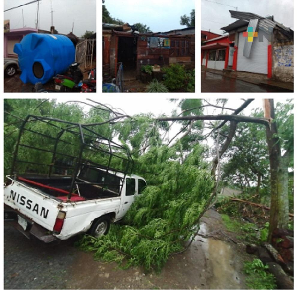 Tromba y Surada deja graves afectaciones en diferentes municipios de zona centro de Veracruz