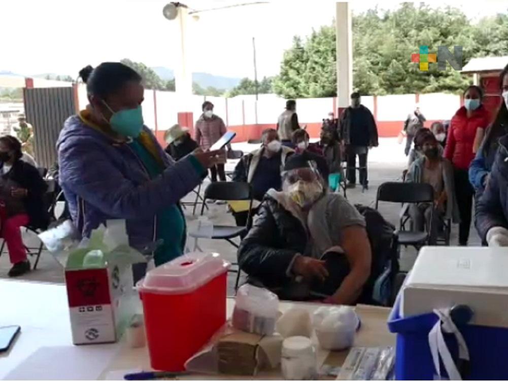 A partir de mañana aplicarán segunda dosis a personas de 50-59 años en Xalapa, Poza Rica y Boca del Río