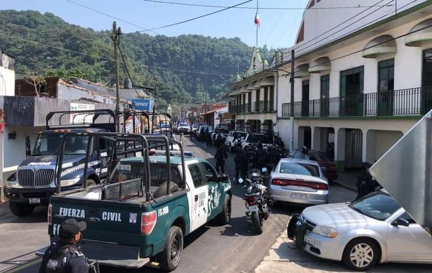 SSP Veracruz desarmó a la Policía Municipal de Jilotepec